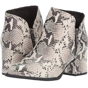 Seychelles Chaparral booties snakeskin boots